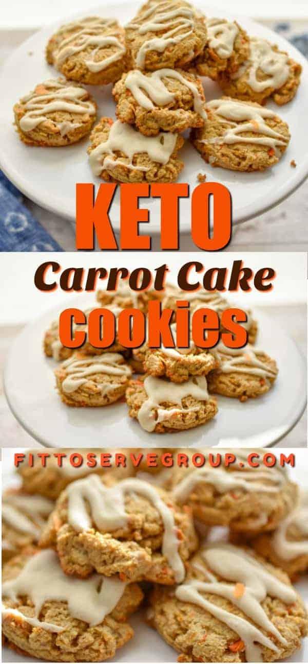 keto carrot cake cookies