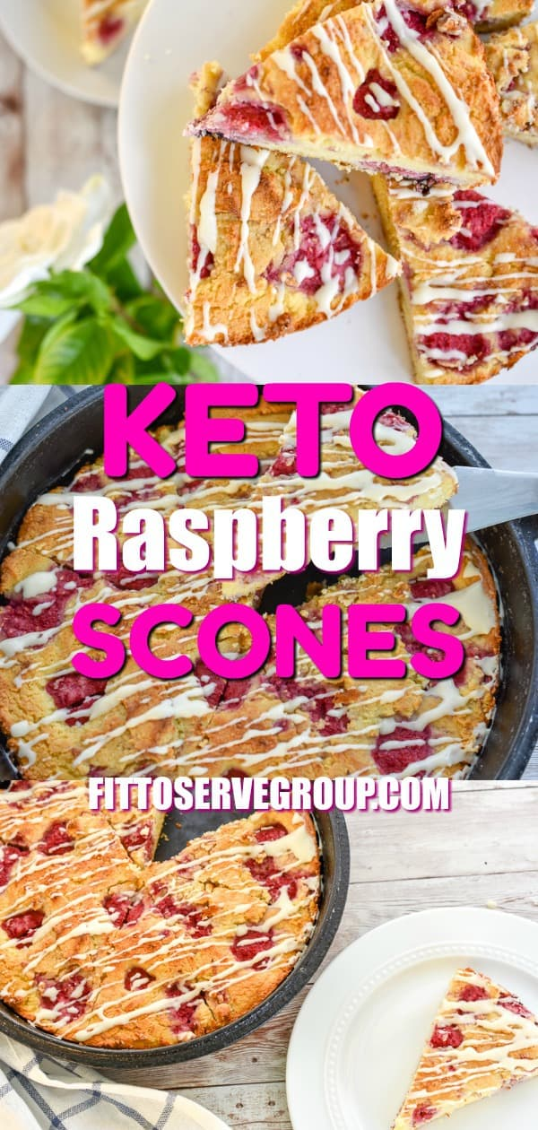 Keto Raspberry Scones
