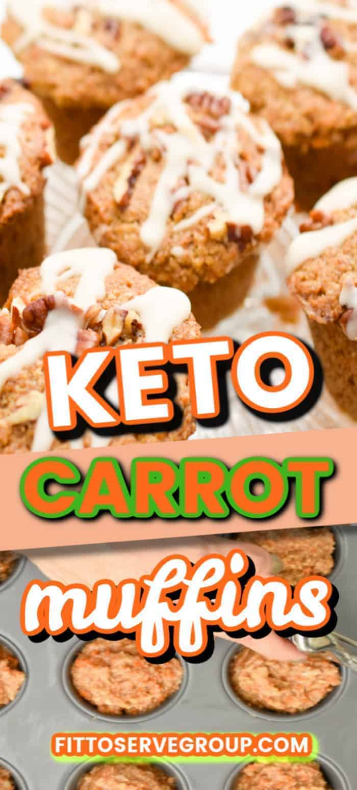 dairy free keto carrot muffins