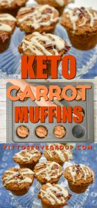 keto carrot muffins