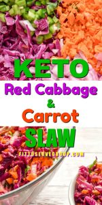 This Keto Red Cabbage And Carrot Slaw recipeisthe perfect spring & summer side dish. It features a tangy apple cider vinaigrette that keeps this slaw light, crunchy, and slightly spicy.