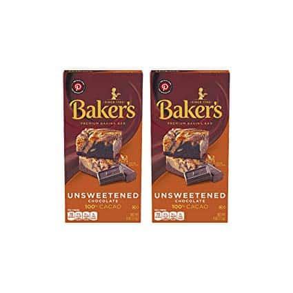 Baker's Unsweetened Baking Chocolate