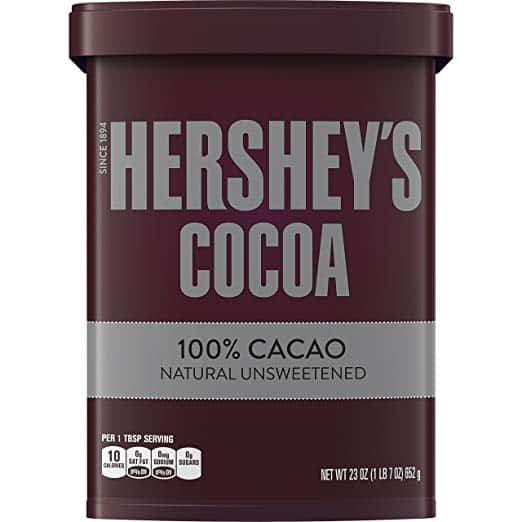 HERSHEY'S Natural Unsweetened 100% Cocoa Powder