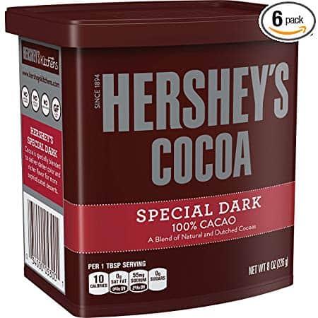 HERSHEY'S Baking Cocoa, SPECIAL DARK