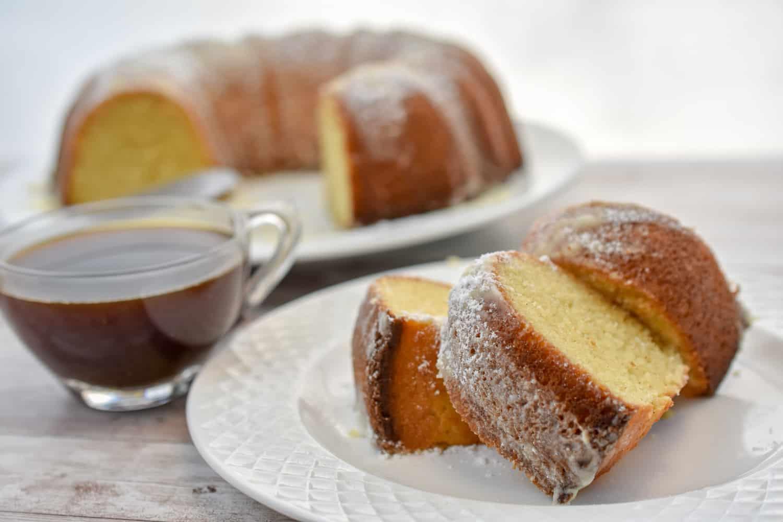 Keto brown butter bundt cake