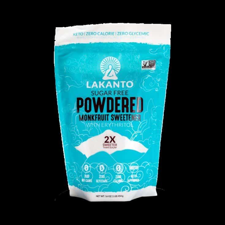 Powdered Monkfruit 2:1 Sugar Substitute