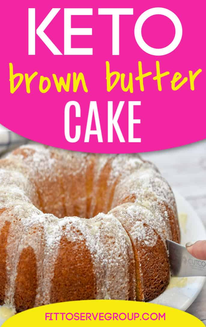 keto brown butter cake