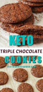 Keto dark Chocolate cookies