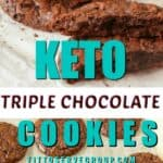 Keto dark Chocolate cookies