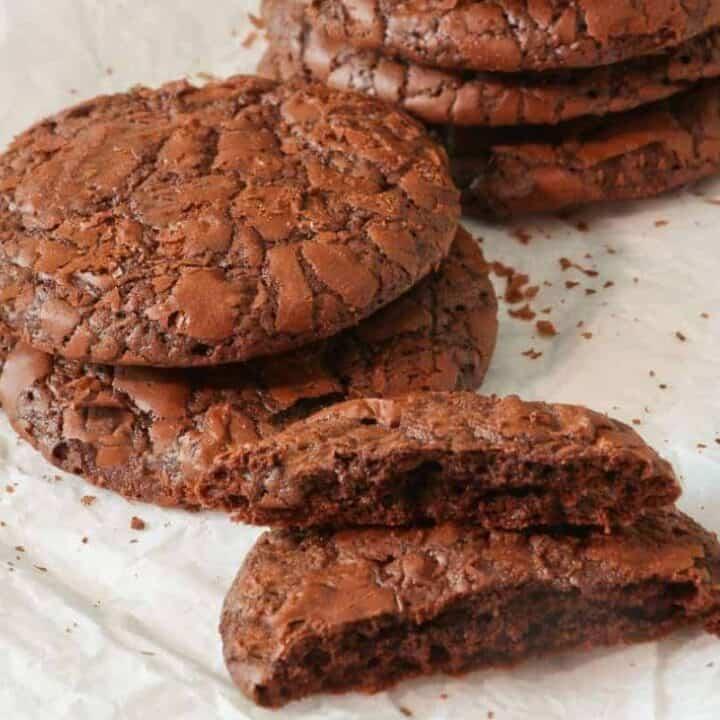 Keto Triple Chocolate Cookies