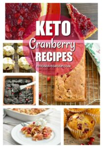 Keto cranberry recipes a collection of low carb cranberry recipes