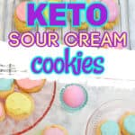 Keto Sour Cream Old fashion Cookies