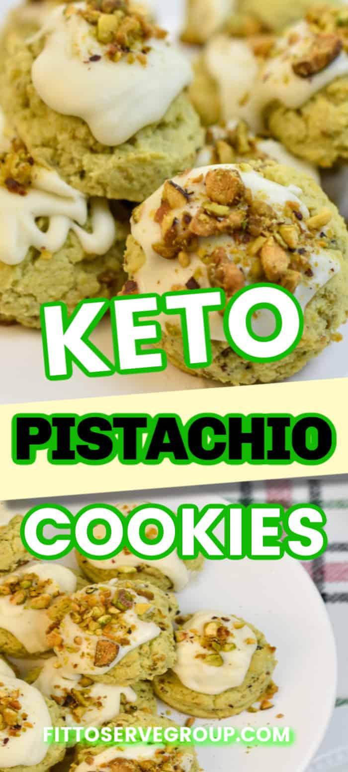 Keto Pistachio Cookies