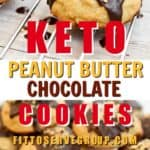keto peanut butter chocolate cream cheese cookies