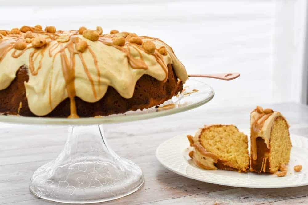 keto peanut butter cake