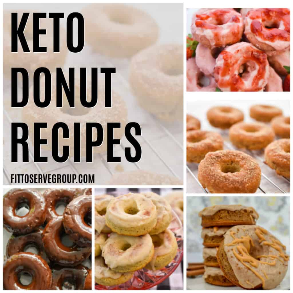 Keto donut collection