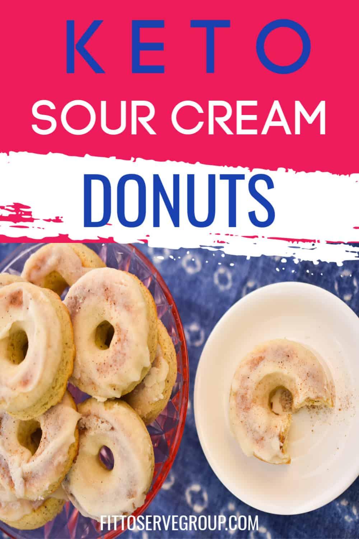keto old fashion donuts