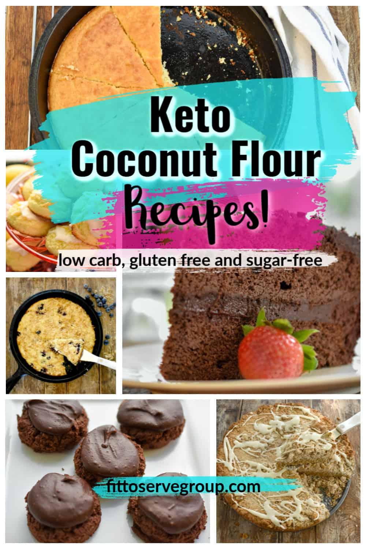 coconut flour keto recipes