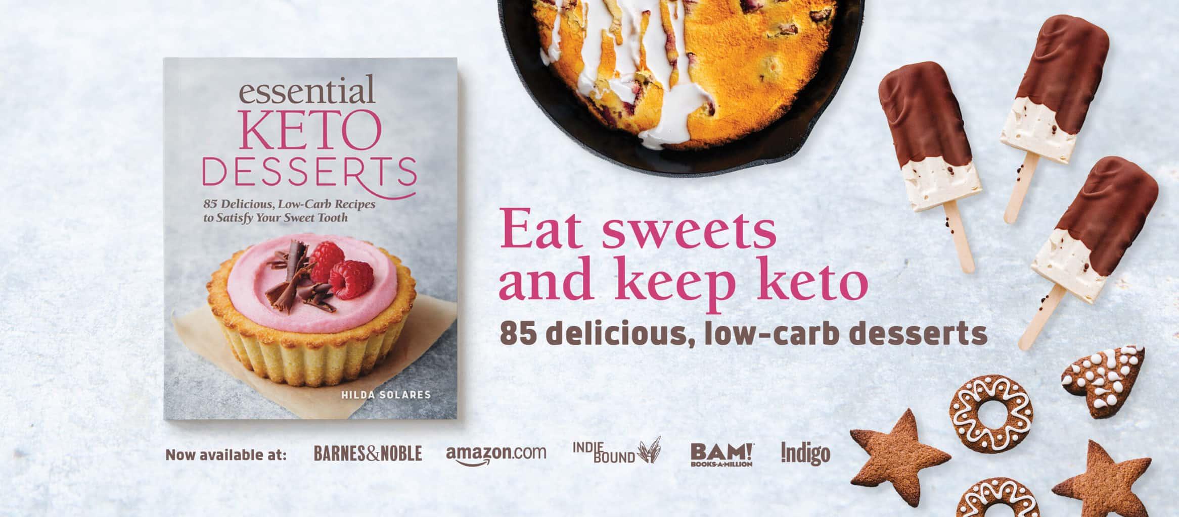 Essential Keto Desserts Book
