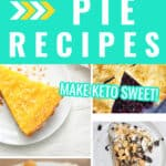 A collection of keto pies