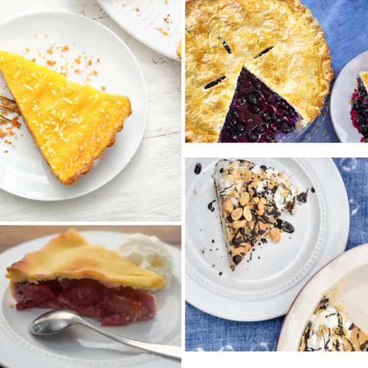 Keto Pie Recipes collage