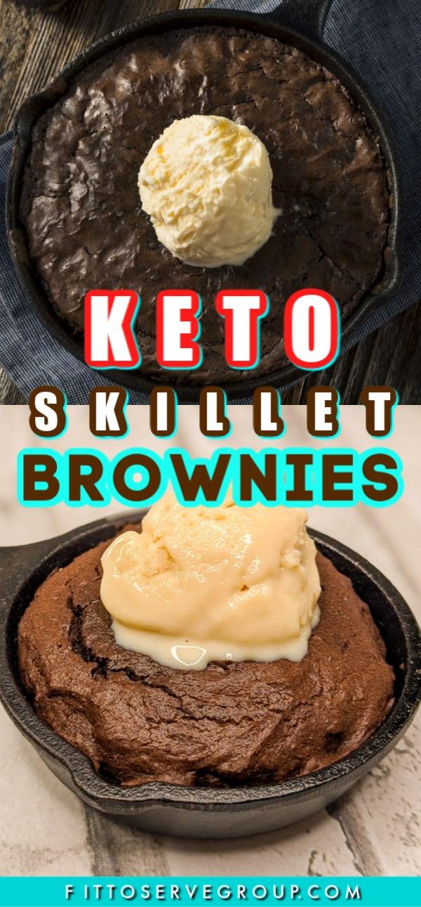 low carb skillet brownies long pin