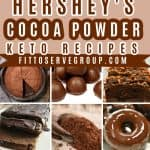 The Best Hershey's Cocoa Powder Keto Recipes Pin