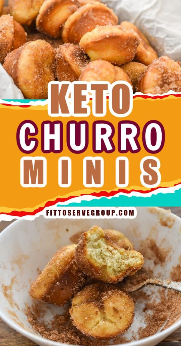 Keto Churro Minis Pin