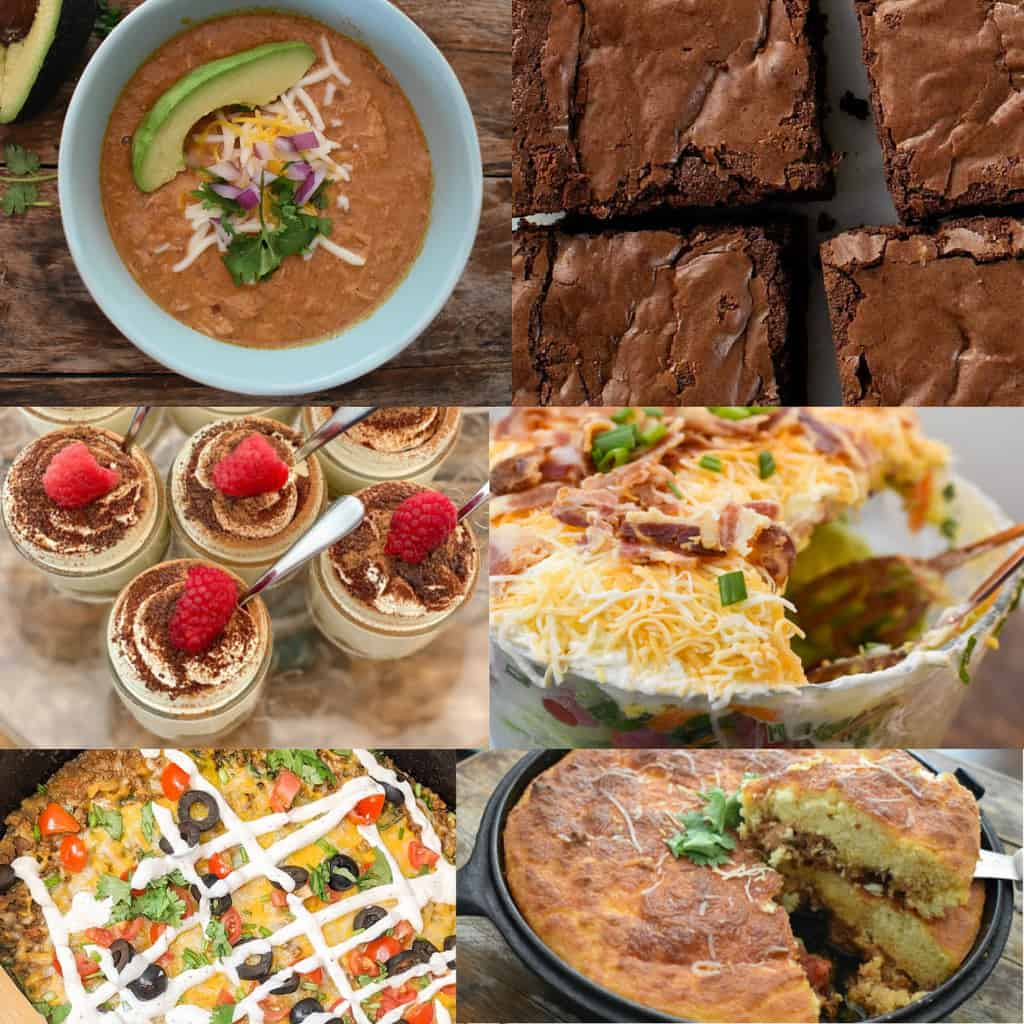 Keto Football Food Featured Image Collage