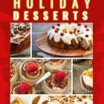 Keto Holiday Desserts Pin
