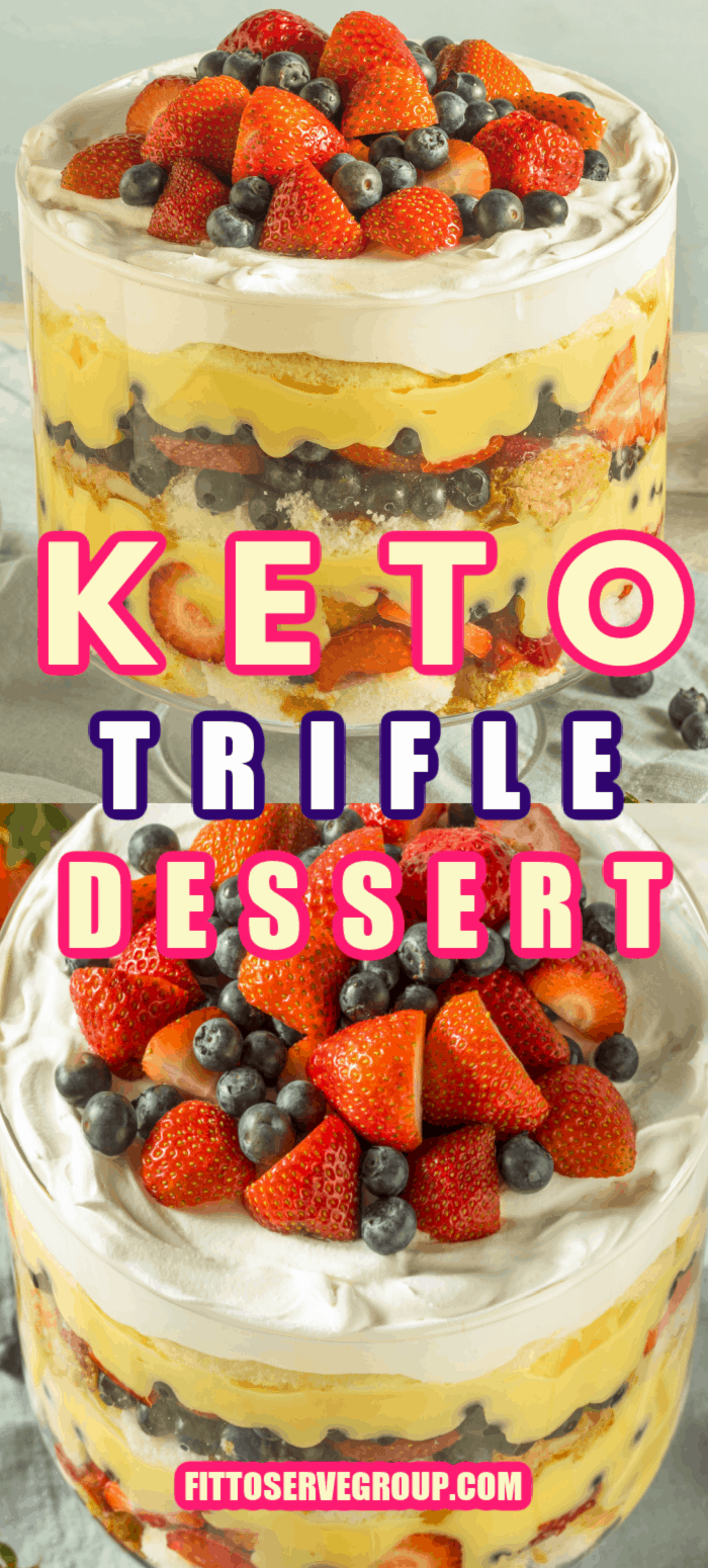 Keto Trifle Dessert