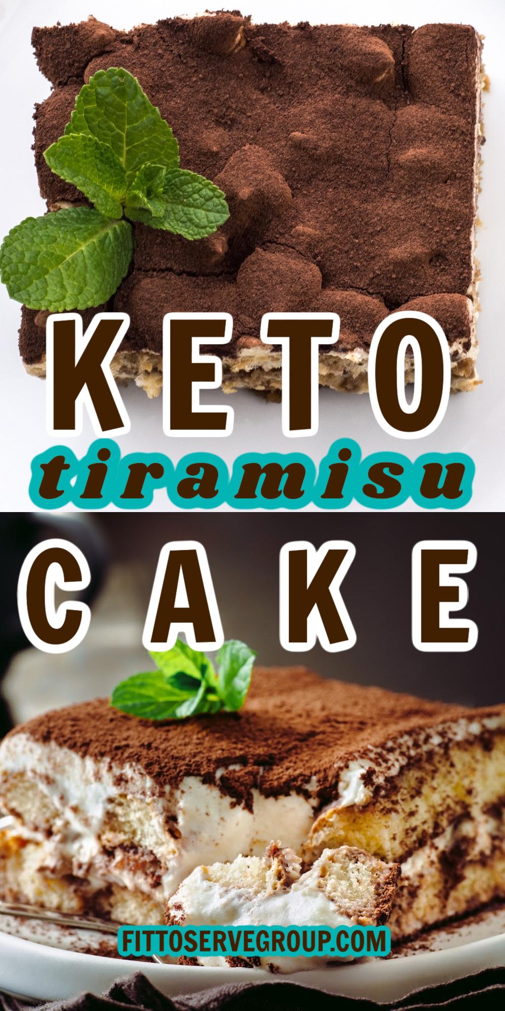 Best keto Tiramisu Cake
