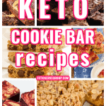 A keto cookie bar recipe collection
