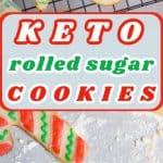 Keto Rolled Sugar Cookies Pin