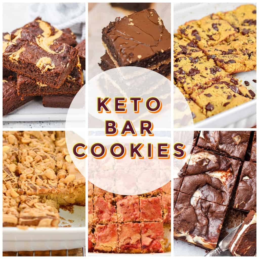 keto bar cookies featured image collage