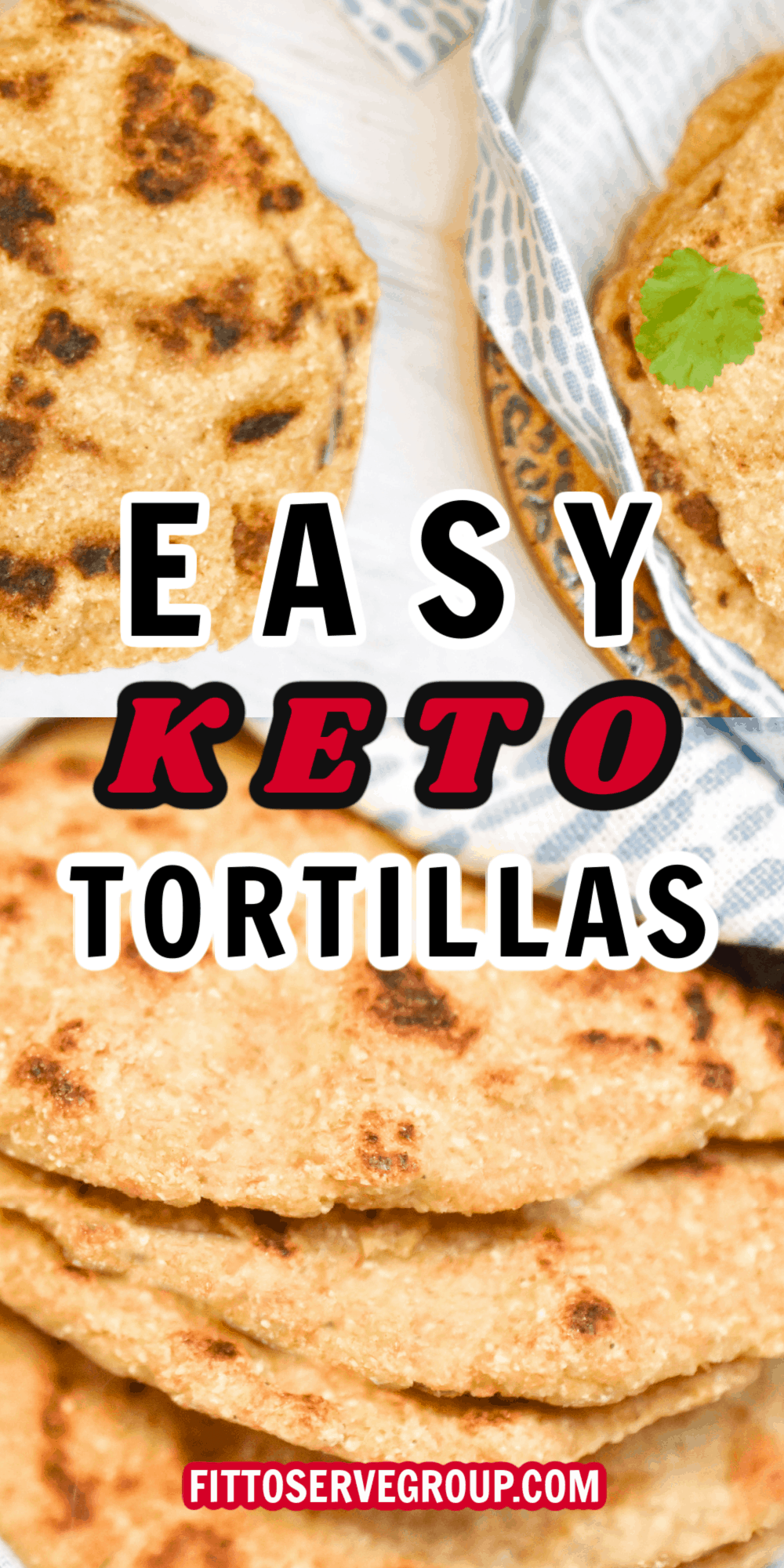 easy keto tortillas made with flax meal pin