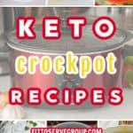 KETO CROCKPOT RECIPES PIN
