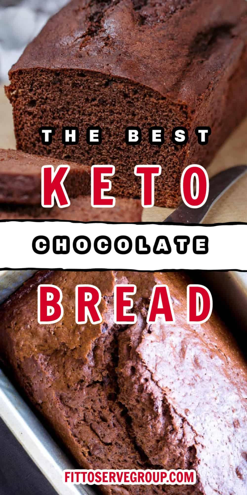 Keto Chocolate Bread Pin