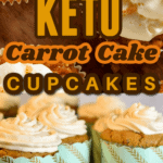 These keto carrot cake cupcakes are moist, grain-free, gluten-free, and flat-out delicious. This low carb carrot cake cupcake recipe is not only low in carbs but it's a flavorful carrot cake cupcake that's topped with cream cheese frosting!And with only just 3.1 net carbs it's one you can enjoy while doing keto. keto carrot cake cupcakes| low carb carrot cake cupcakes| sugar-free carrot cake cupcakes| gluten-free carrot cake cupcakes