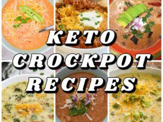 keto crockpot recipes collage