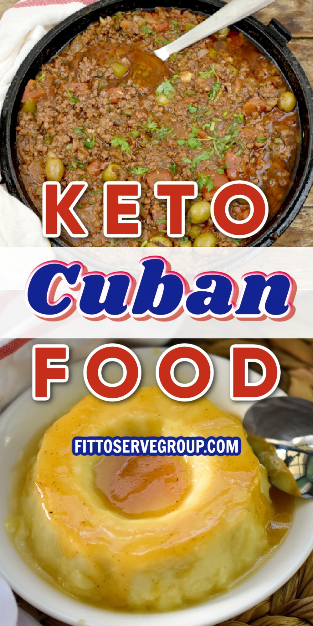 KETO CUBAN FOOD PIN