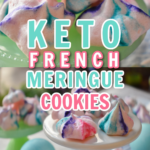 Keto French Meringue Cookies