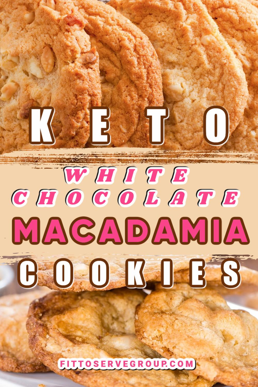 keto white chocolate macadamia cookies