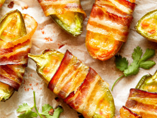 keto bacon jalapeño poppers featured image