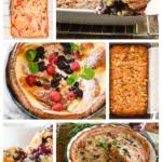 Keto Brunch Recipes collage
