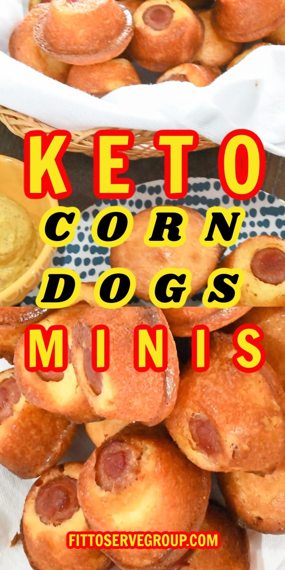 Keto Corn Dogs Minis