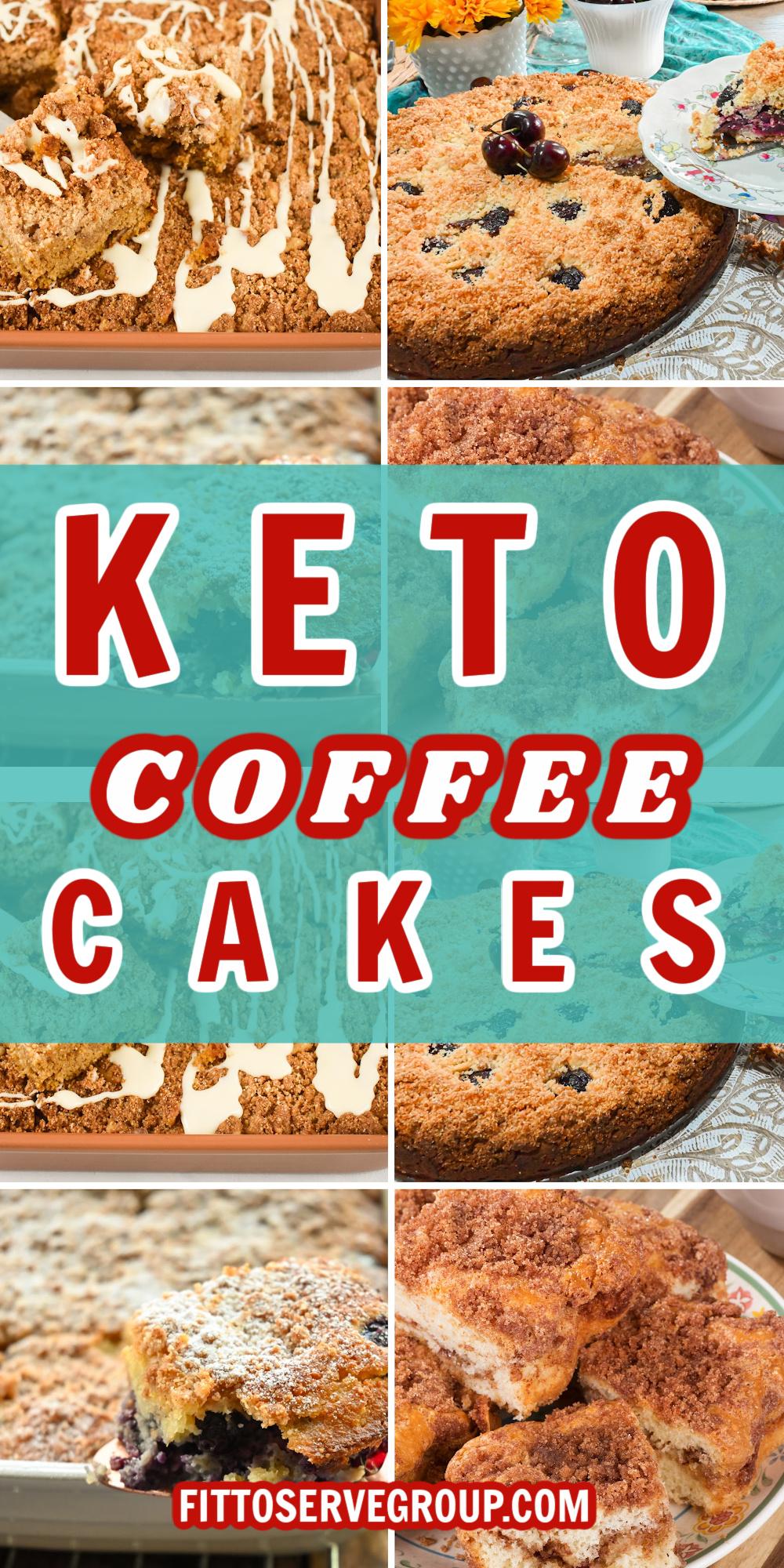 Keto Coffee Cakes
