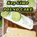 Keto Key Lime Pound Cake