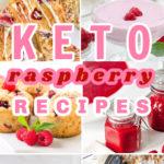 Keto Raspberry Recipes Pin