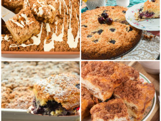 keto coffee cakes featured image